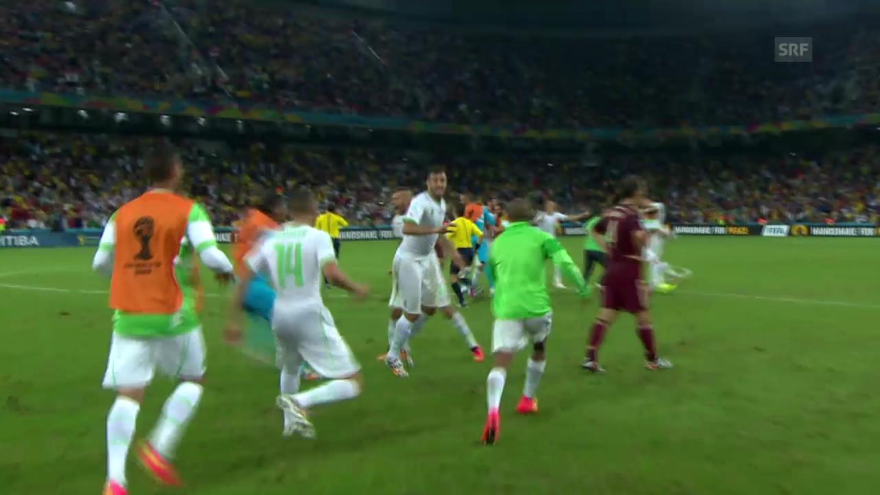 FIFA WM 2014: Spielbericht Algerien - Russland