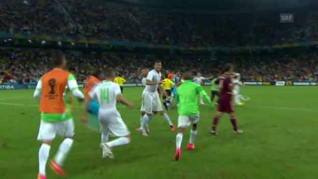 Video «FIFA WM 2014: Spielbericht Algerien - Russland» abspielen