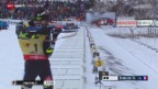 Video «Biathlon: Weltcup in Oberhof, Männer, Benjamin Weger» abspielen