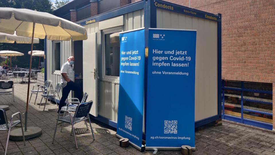 Mobile Impfstation an Aargauer Schulen