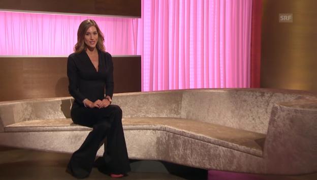 Video «Bianca Gubser: Gastmoderatorin bei «G&G»» abspielen