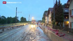 Video «Heftige Unwetter in der Nacht» abspielen
