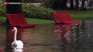 Video «Nur kurze Regenpause fürs Tessin » abspielen