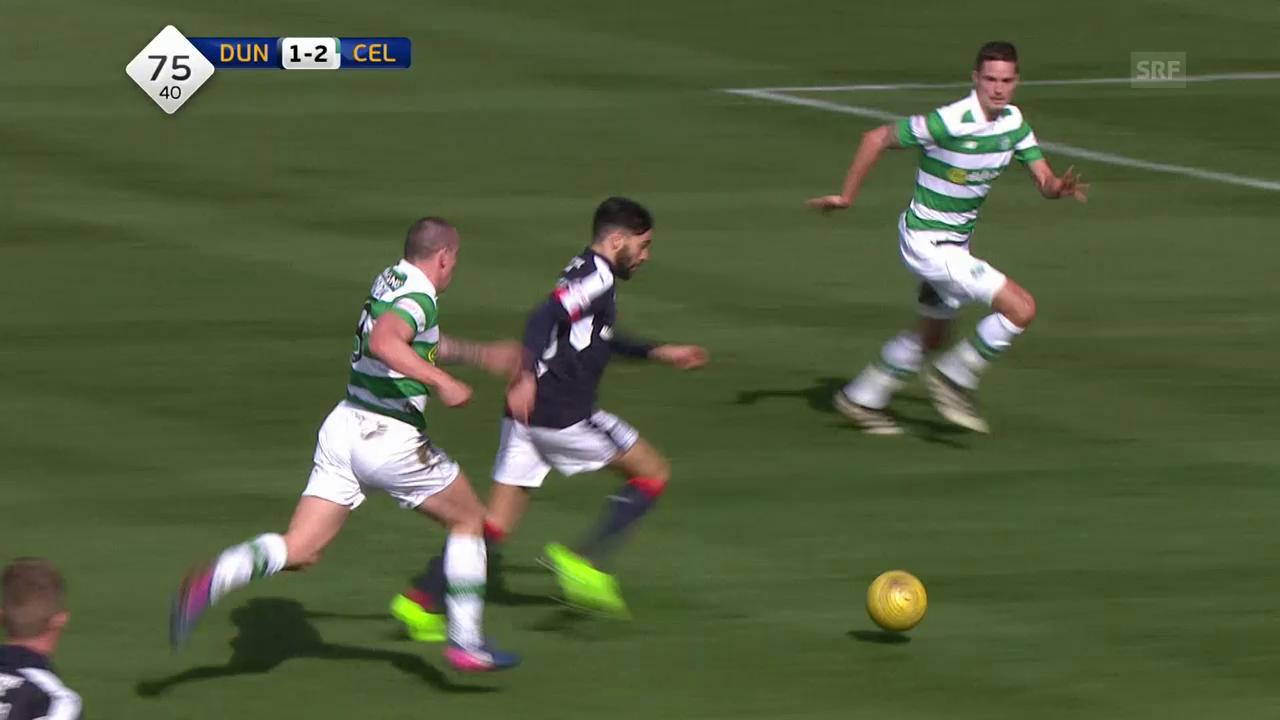 Herrlicher Treffer von Dundees El Bachtaoui gegen Celtic