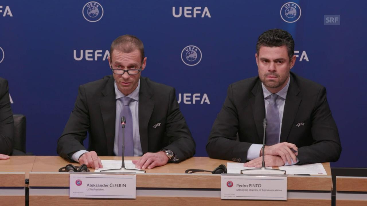 Uefa-Präsident Ceferin über den Stadion-Entscheid