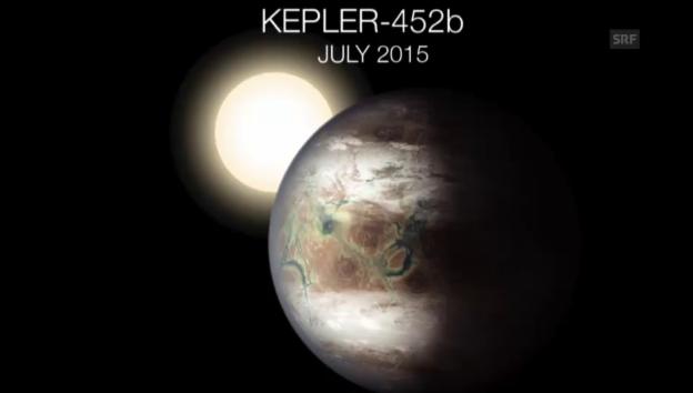 Video «Nasa endeckt erdähnlichen Planeten» abspielen