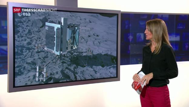 Video «Verschollener Landeroboter auf Komet entdeckt» abspielen