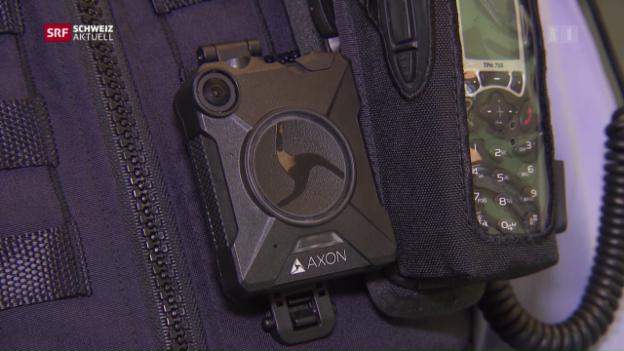 Video «Bodycam für Zürcher Polizei» abspielen