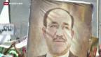 Video «Der Machtkampf in Irak spitzt sich zu» abspielen
