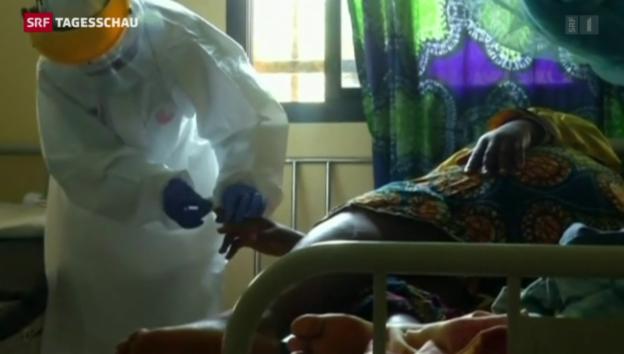 Video «Hoffnung im Kampf gegen Ebola» abspielen