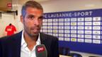 Video «SL-Rückkehrer Lausanne will bestehen» abspielen
