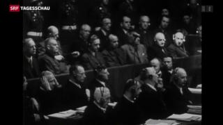 Video «Gedenken an Nürnberger Prozesse» abspielen