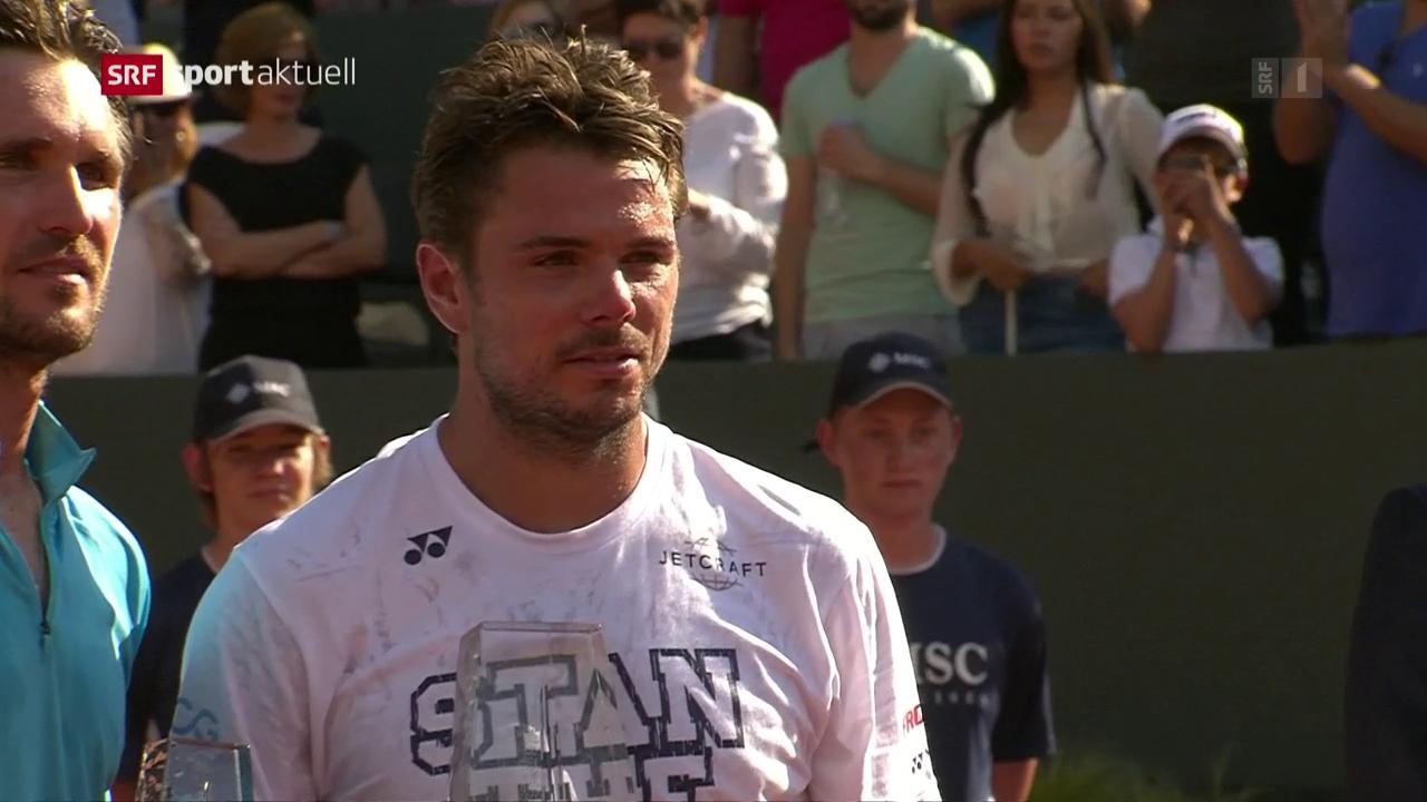 Stan Wawrinka gewinnt in Genf