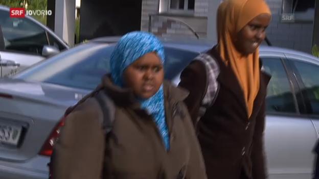 Video «Unterrichtsverbot wegen Kopftuch: Behörden üben Kritik» abspielen