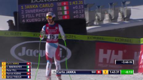 Video «Ski: Abfahrt Beaver Creek, Fahrt Janka» abspielen