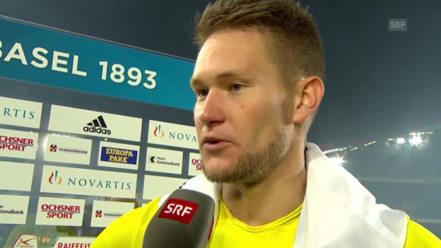 Video «Fussball: Super League, Basel - YB, Interview mit Tomas Vaclik» abspielen