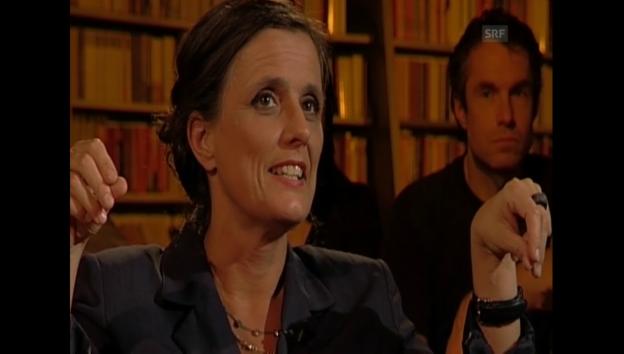 Video ««Literaturclub» mit Iris Radisch» abspielen