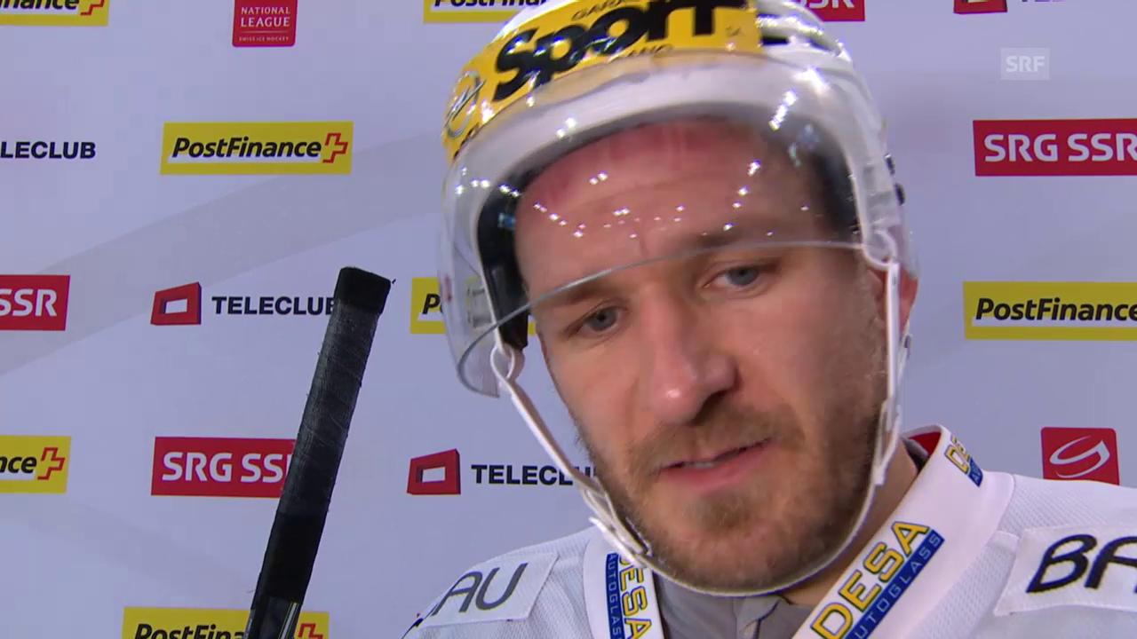 Eishockey: Interview mit Steve Hirschi (italienisch)