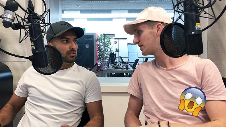 Zwei am Morge goes Radio