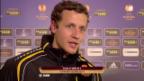 Video «Fussball: Stimmen zu YB - Udinese» abspielen