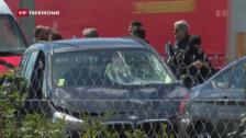 Video «Französische Behörden nehmen Terrorverdächtigen fest» abspielen