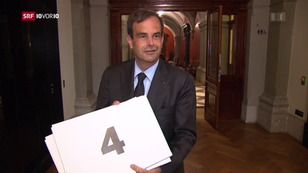 Video «Ein Jahr Parteipräsident: Gerhard Pfister» abspielen