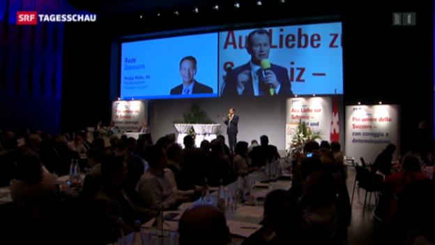 Video «FDP-Delegiertenversammlung» abspielen