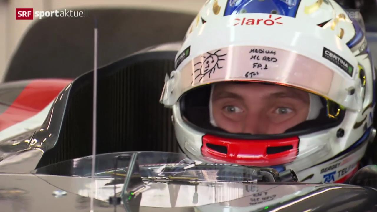 Formel 1: Sergej Sirotkins Premiere im Sauber