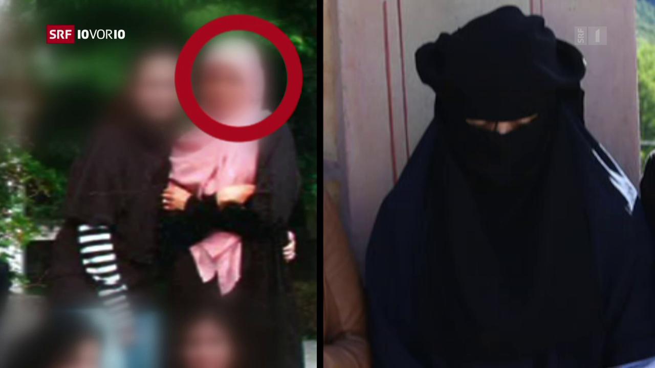Zwei junge Frauen aus Biel beim IS