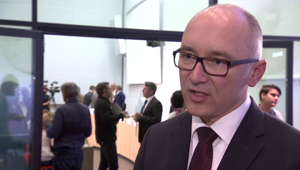 Michael Wieser vom ENSI zu den Standorten