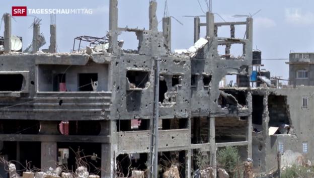 Video «Gaza: Ein Jahr nach dem Krieg» abspielen