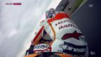 Video «Motorrad: Sturz Pedrosa auf dem Sachsenring» abspielen