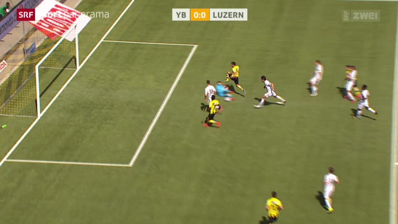 Fussball: YB - Luzern