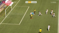 Video «Fussball: YB - Luzern» abspielen