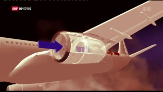 Video «Wie gefährlich ist Vulkanasche für Flugzeugtriebwerke? » abspielen