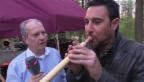 Video ««g&g feiert mit»: Salaar Bahrampoori bläst Alphorn» abspielen