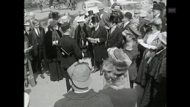 Video «Sherlock Holmes vorläufiges Ende (Antenne, 2.5.1968)» abspielen