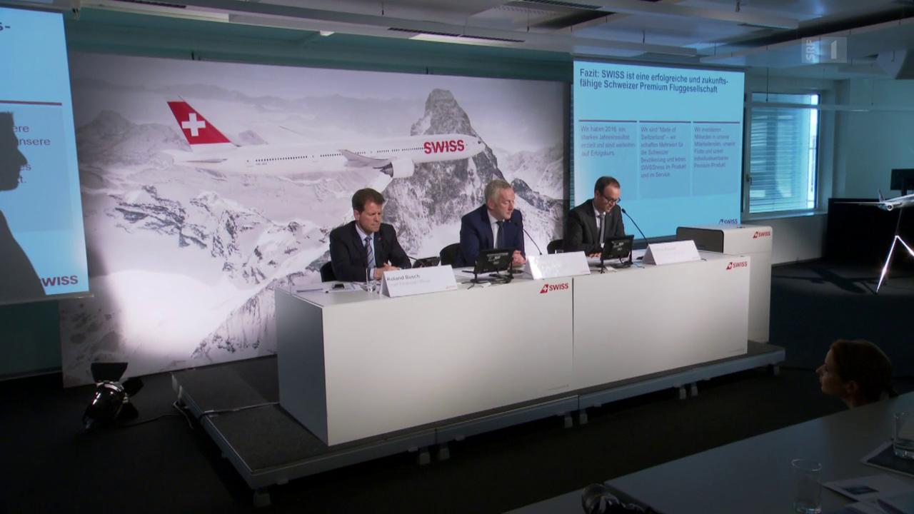 «Kassensturz» an der Swiss-Pressekonferenz - trotz Ausladung.