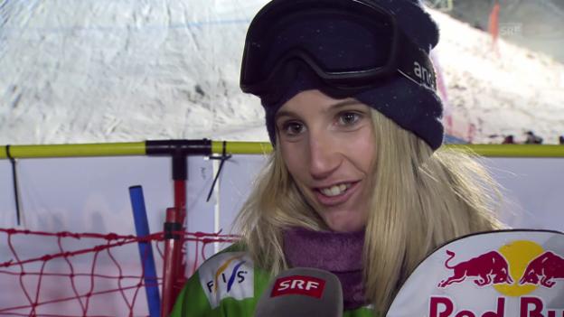 Video «Anna Gasser: «Ich habe es heute einfach gefühlt»» abspielen