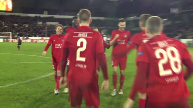 Video «Fussball: Europa League, Midtjylland-Brüssel» abspielen