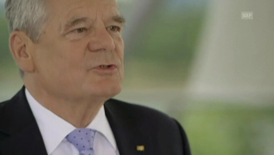 Joachim Gauck zur Abhöraffäre