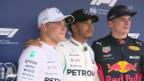 Video «Qualifying in der Hand von Mercedes» abspielen