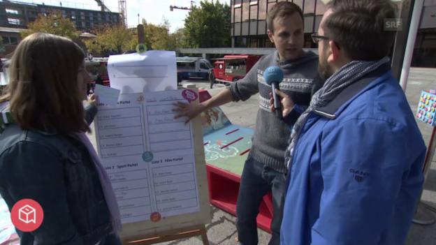 Laschar ir video «politbox on tour #17: Live-Sendung aus Zürich»