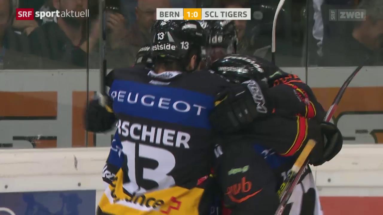 Eishockey: Bern - Langnau