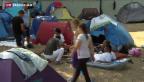 Video «Amnesty prangert Situation in Flüchtlingslager in Österreich an» abspielen