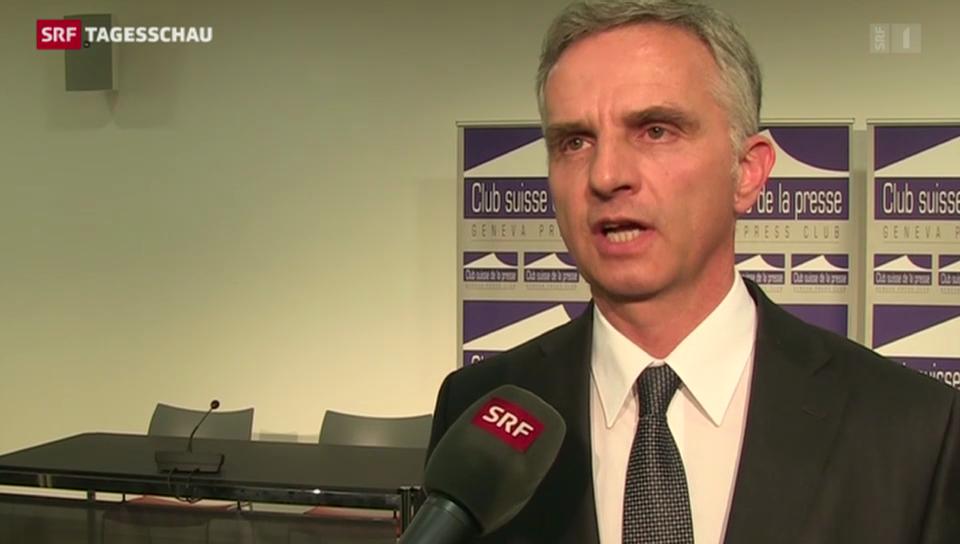 Didier Burkhalter zur Vermittlung der OSZE