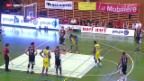 Video «Basketball: Playoff-Final Union Neuchatel - Lions de Genève» abspielen