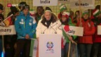 Video «Die feierliche Eröffnung der Ski-WM in St. Moritz» abspielen