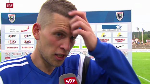 Video «Fussball: Stimmen zu Aarau - Basel» abspielen