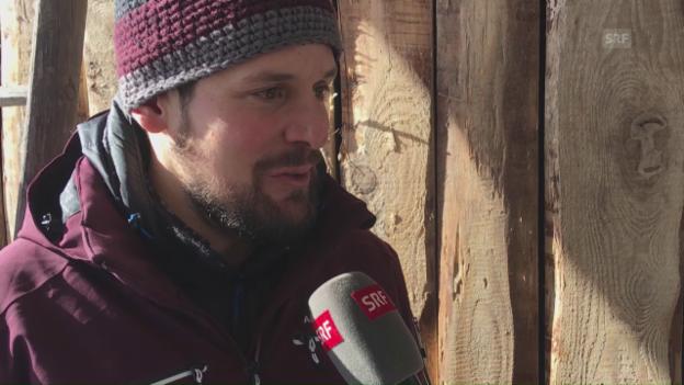 Video «Daniel Albrecht: «Suche das Gefühl auf dem Schnee»» abspielen